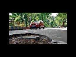 Potholes became nightmare for the residents of Bidhannagar and Salt Lake